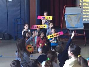 gr and truck kids enact geography